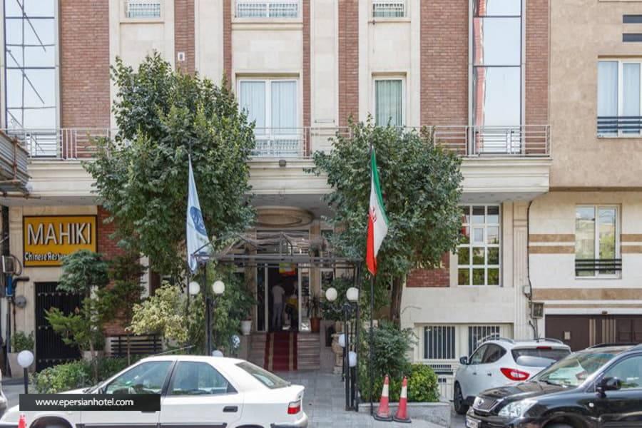 هتل تاوریژ تهران نما