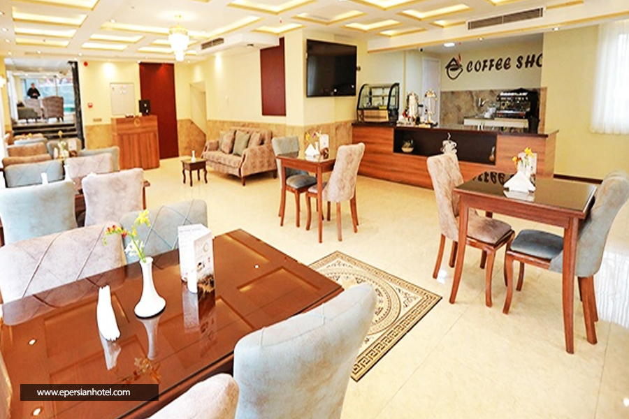 هتل آپارتمان ونک تهران کافی شاپ