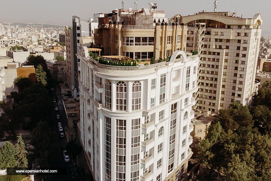 هتل ویستریا تهران نما