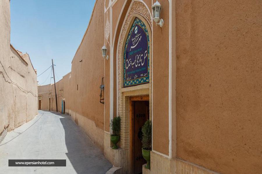 هتل تاریخی لب خندق یزد نما