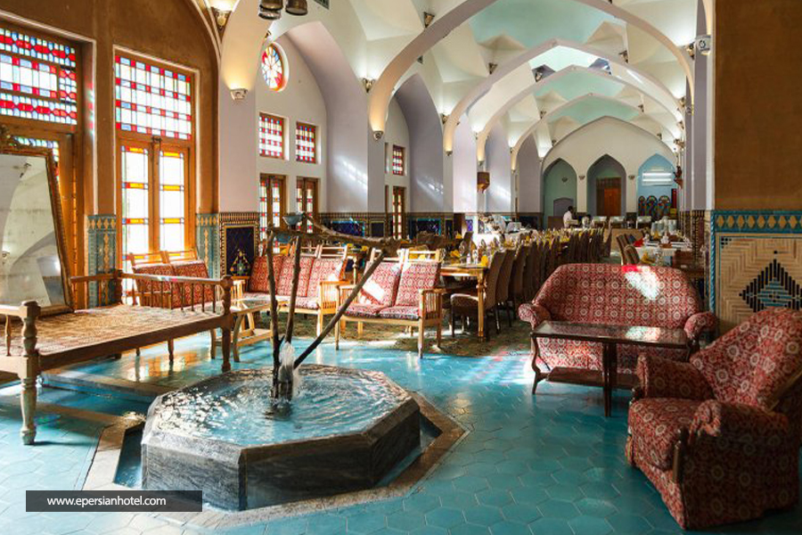 هتل مشیرالممالک یزد رستوران