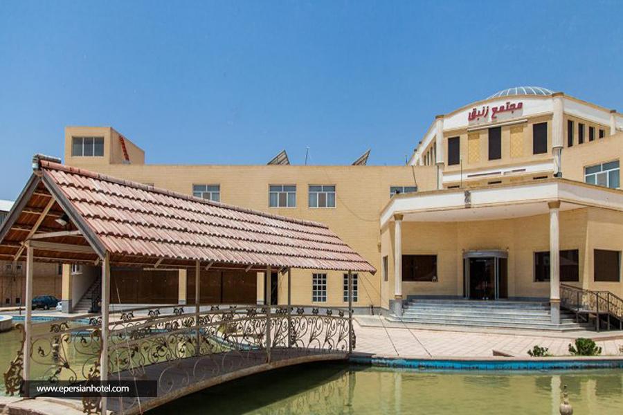 هتل زنبق یزد نما