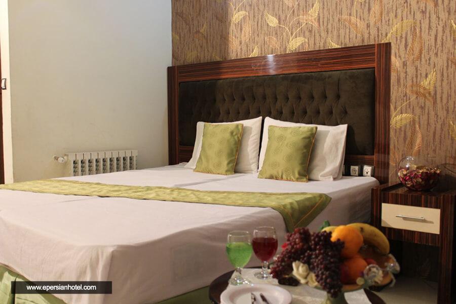 هتل آپارتمان پارادایس مشهد اتاق دوتخته