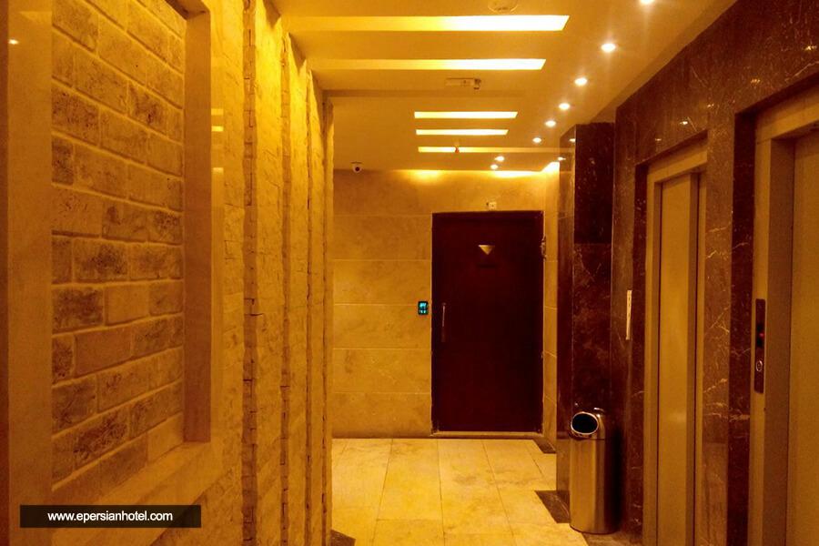 هتل آپارتمان پارادایس مشهد راهرو
