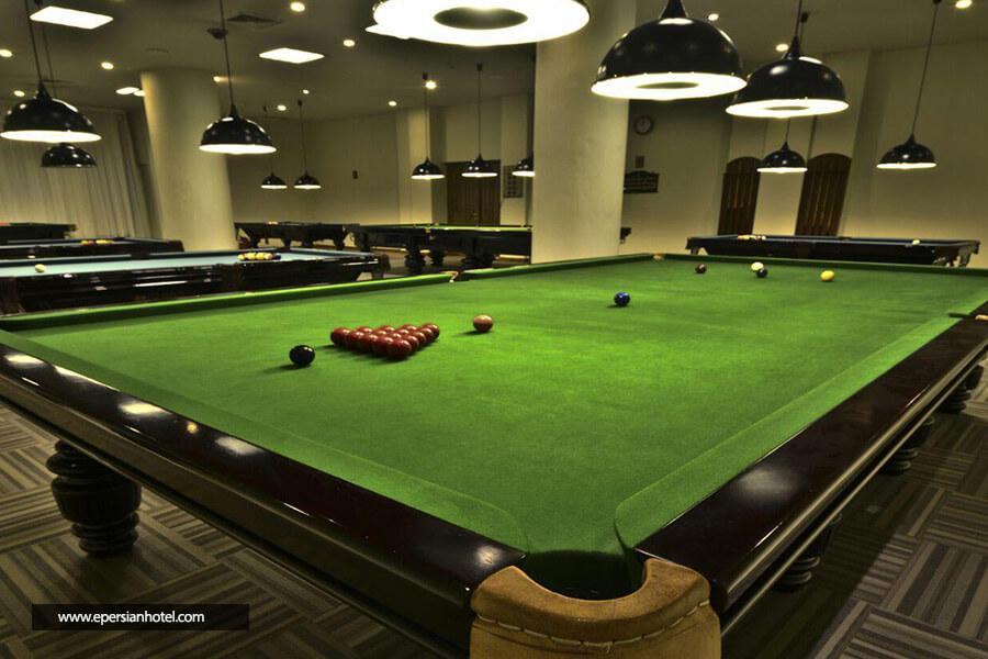 هتل پارس مشهد سالن بیلیارد