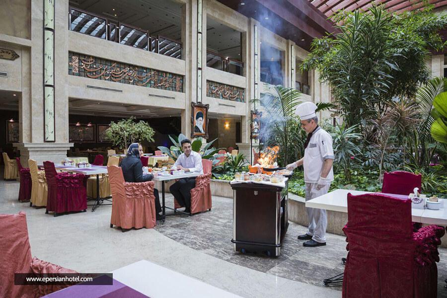 هتل پارس مشهد رستوران
