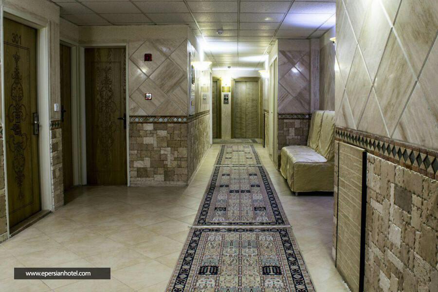 هتل پارسه مشهد راهرو