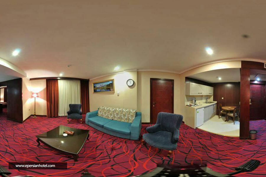 هتل پارسیس مشهد نمای داخلی سوییت