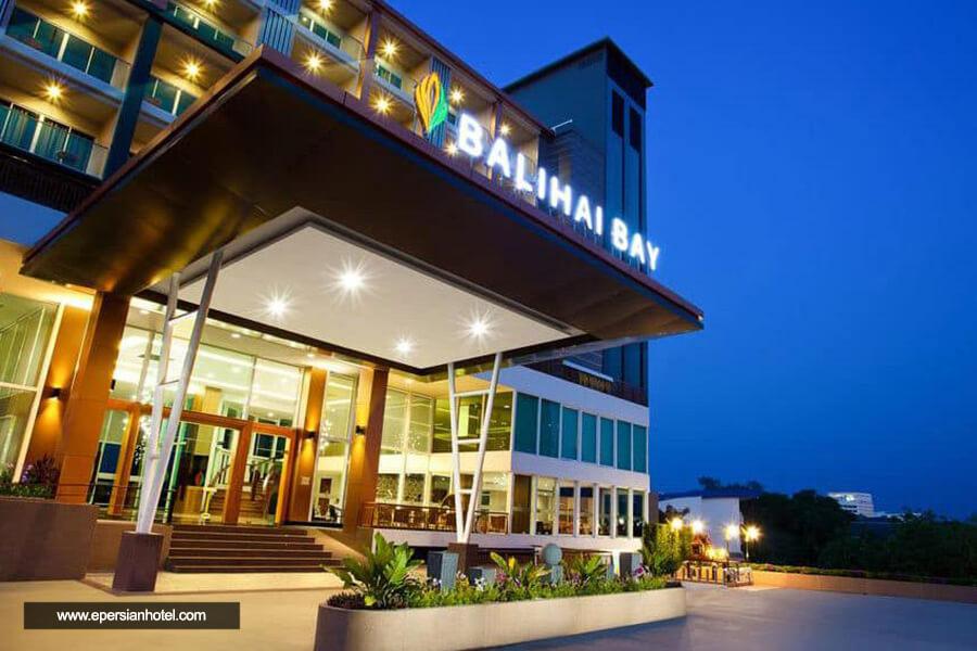 هتل بالیهای بی پاتایا نما