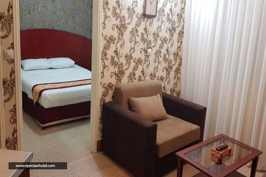 هتل پاژ مشهد اتاق دبل