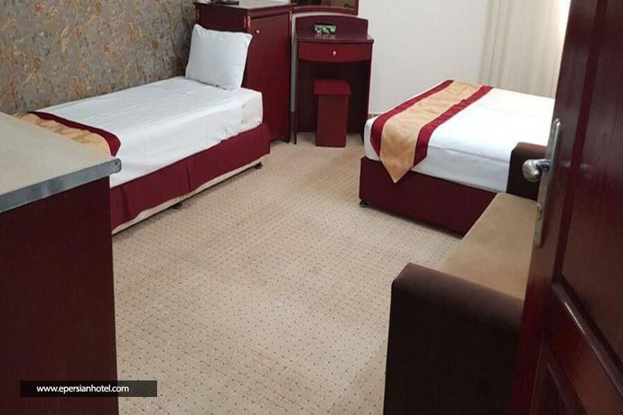 هتل پاژ مشهد اتاق سه تخته