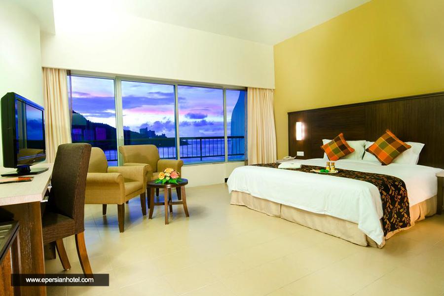 هتل فلامینگو بیچ پنانگ اتاق دبل