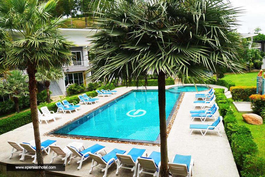 هتل جیپسی سی ویو ریزورت فی فی استخر