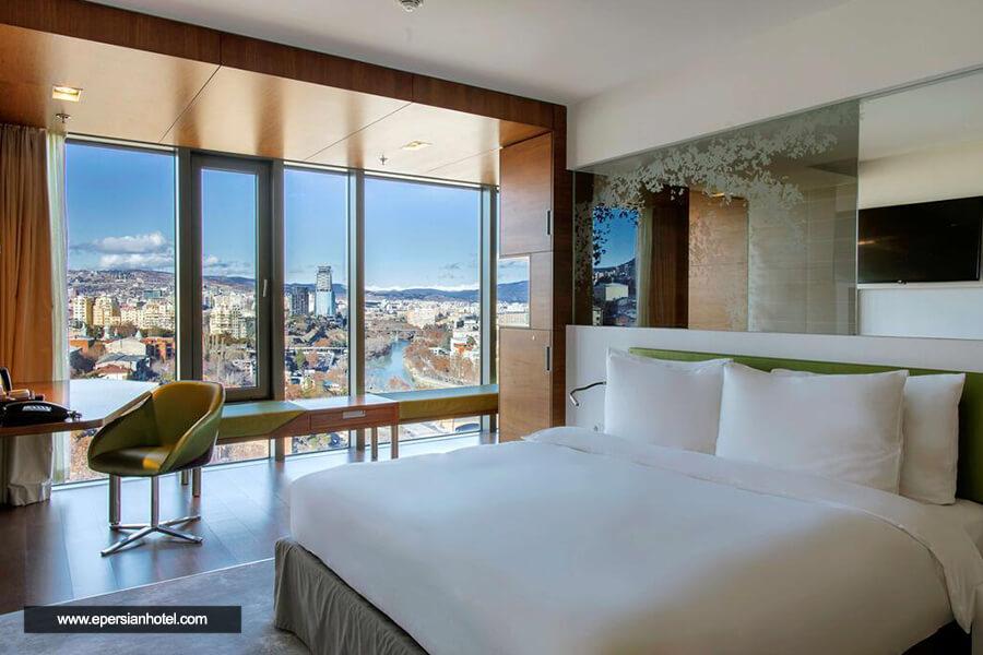 هتل رادیسون بلو ایوریا تفلیس اتاق دو تخته