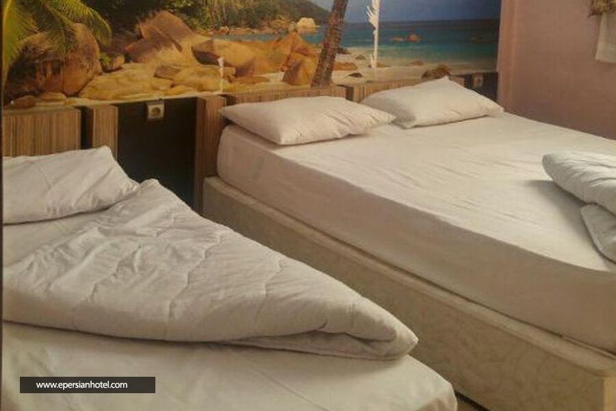 هتل آپارتمان راسپینا مشهد اتاق سه تخته