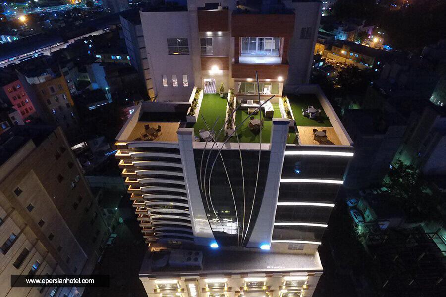 هتل رفاه مشهد نمای بیرونی