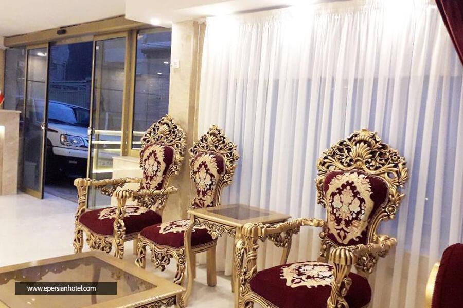 هتل آپارتمان ریحانه مشهد لابی
