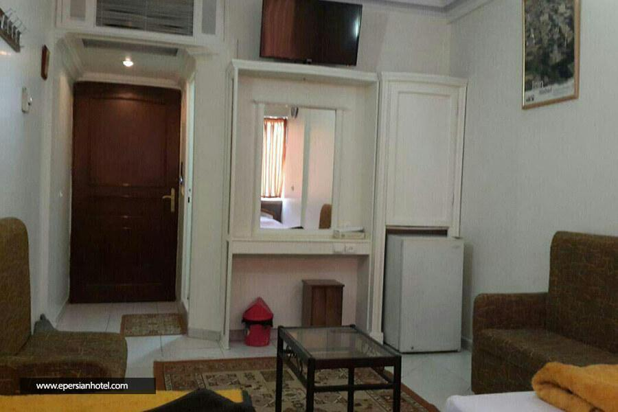 هتل رضا مشهد نمای داخلی اتاق