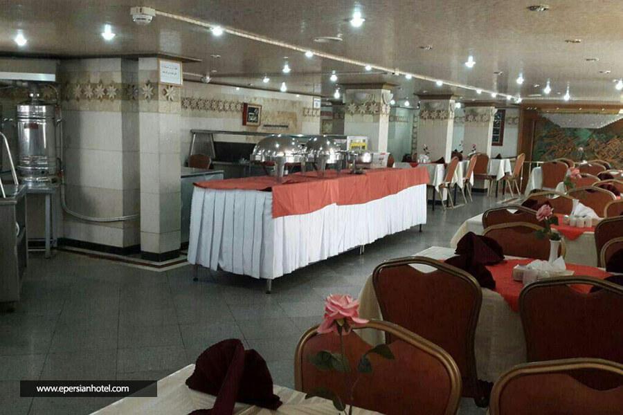 هتل رضا مشهد رستوران