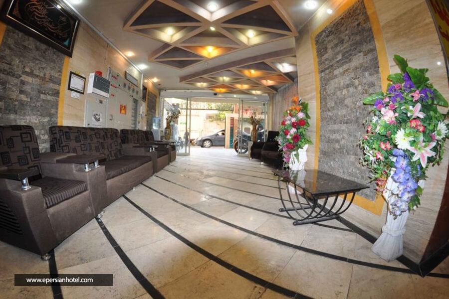 هتل آپارتمان رضایی مشهد لابی