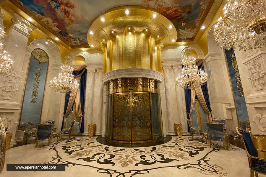 هتل رز درویشی مشهد لابی
