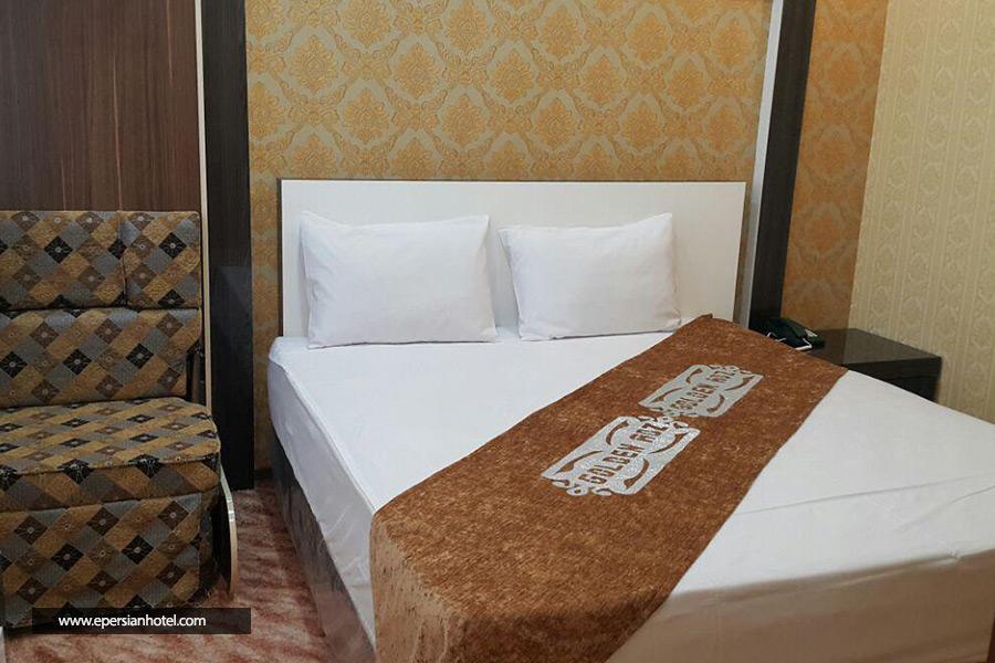 هتل آپارتمان رز طلایی مشهد اتاق سه تخته