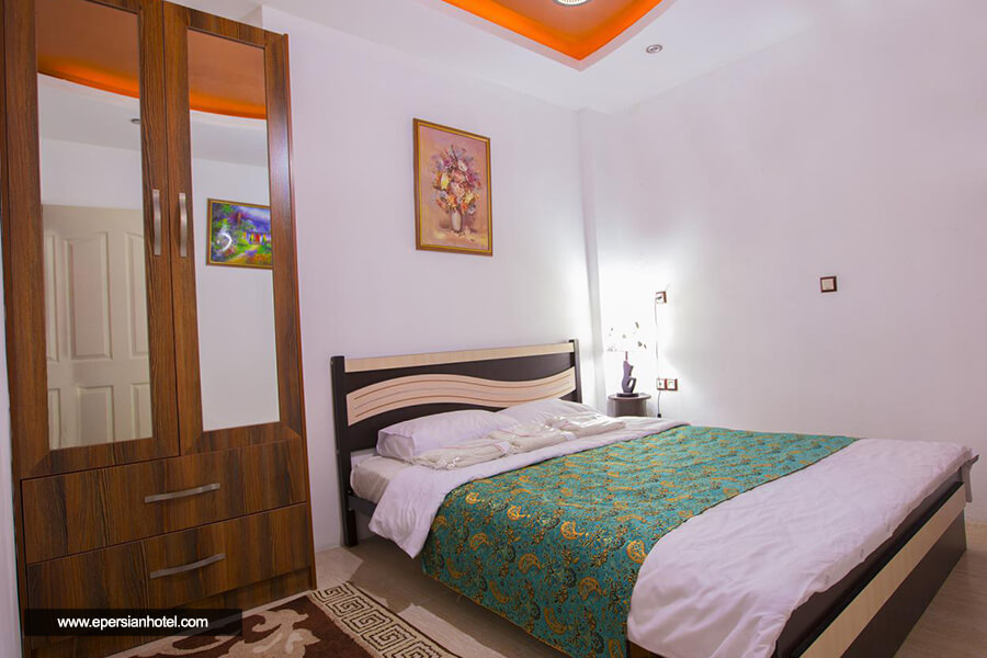 هتل صدف محمودآباد اتاق دوتخته