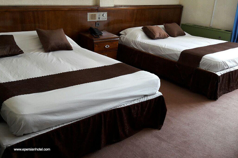 هتل صدف نوشهر اتاق چهارتخته
