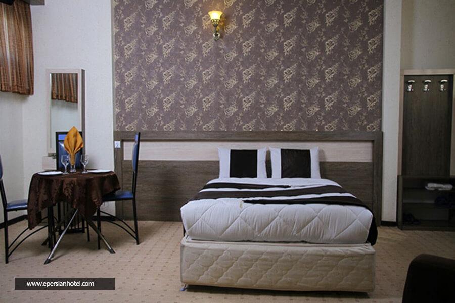 هتل صدف مشهد اتاق دو تخته دابل
