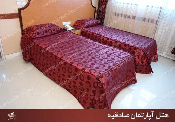 هتل  آپارتمان صادقیه  مشهد class=