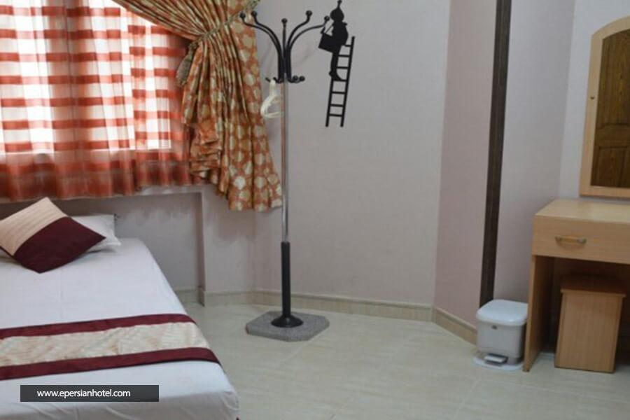 هتل آپارتمان صافات اتاق  یک خوابه
