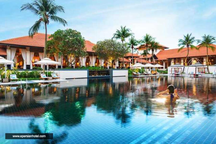 هتل سافیتل ریزورت جزیره سنتوسا استخر