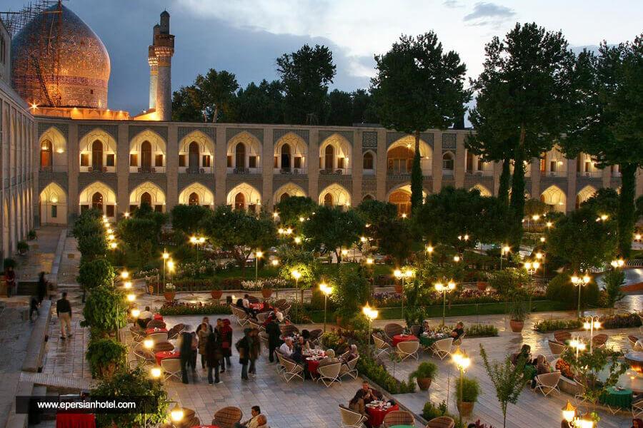 هتل عباسی اصفهان نما