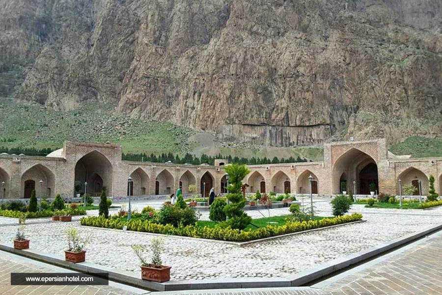 هتل شاه عباسی کرمانشاه نما