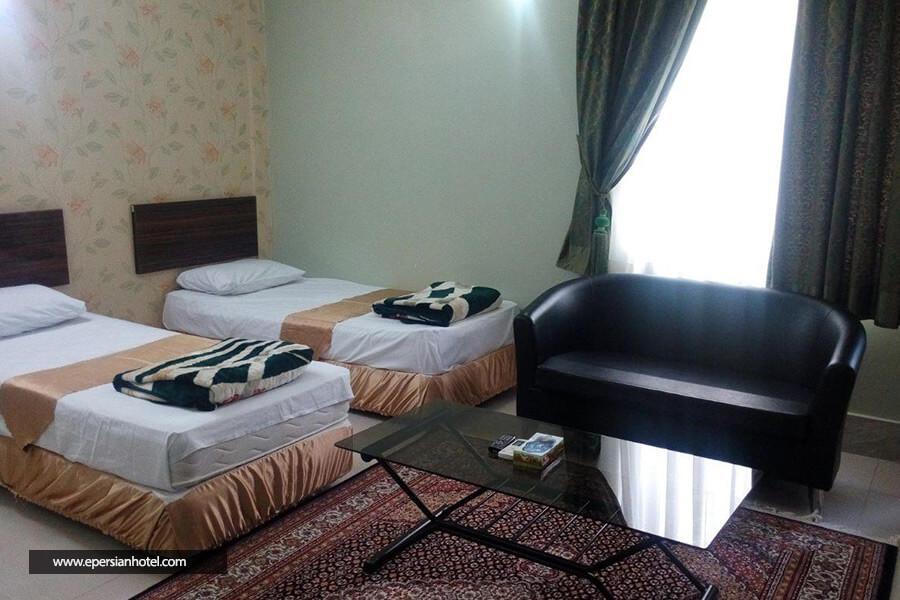 هتل شهریار مشهد اتاق دو تخته