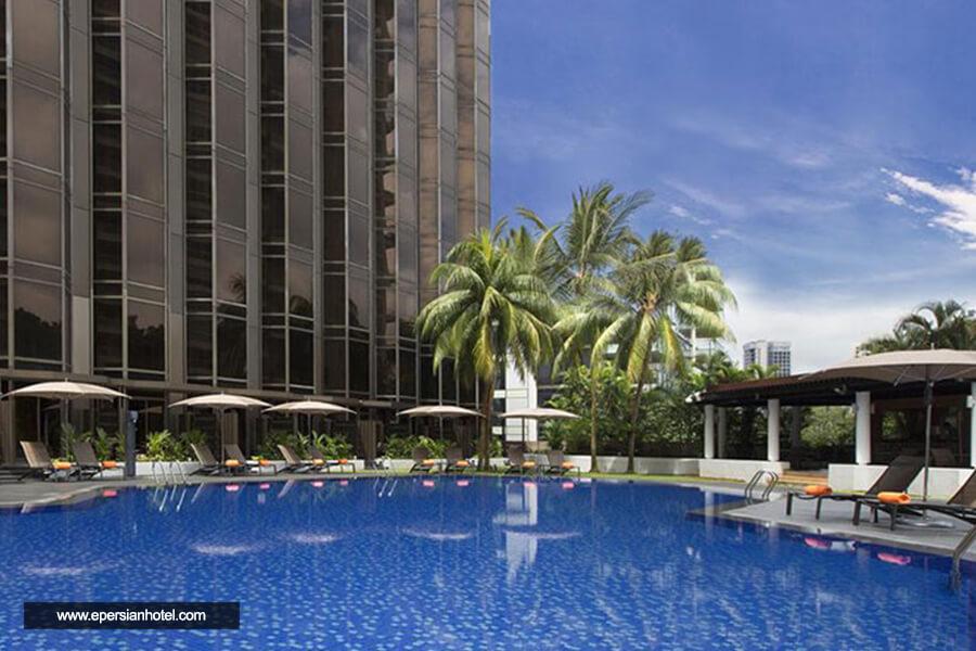 هتل شرایتون تاورز سنگاپور استخر