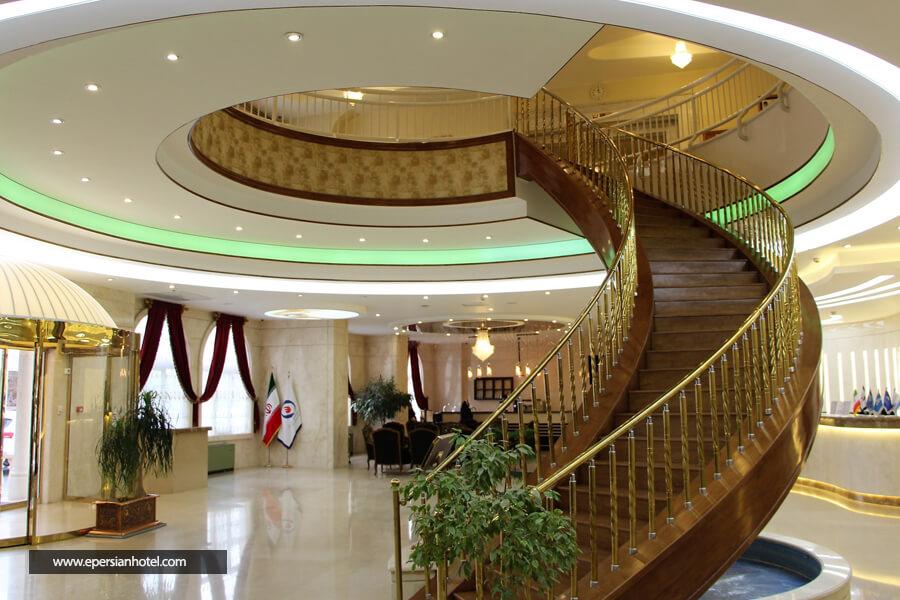 هتل شرکت نفت مشهد فضای داخلی