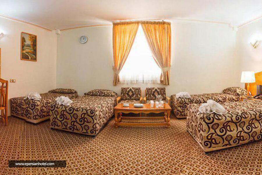 هتل شیراز مشهد اتاق چهارتخته
