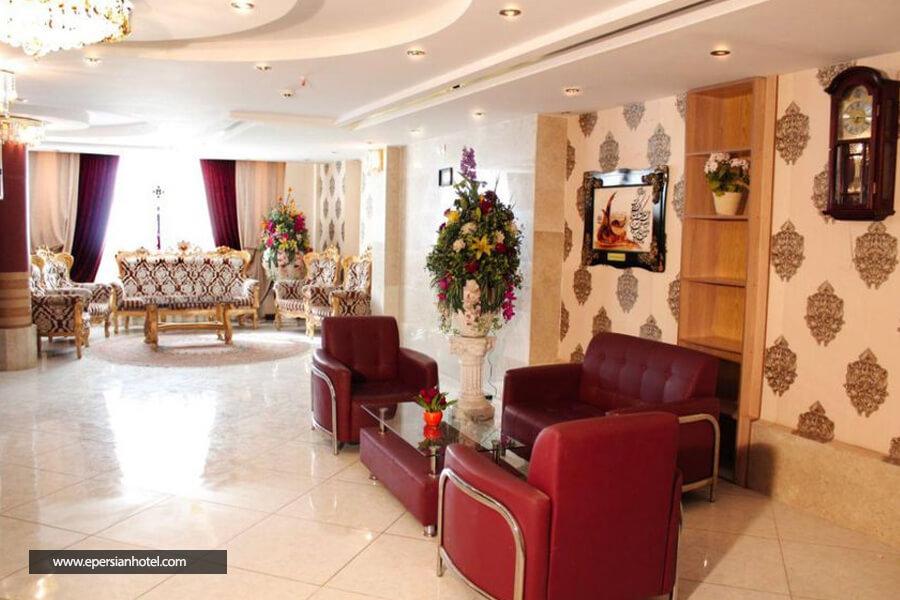 هتل شکرانه مشهد لابی
