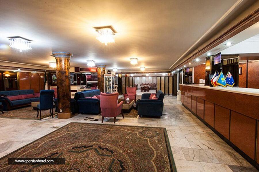 هتل سیبا مشهد لابی
