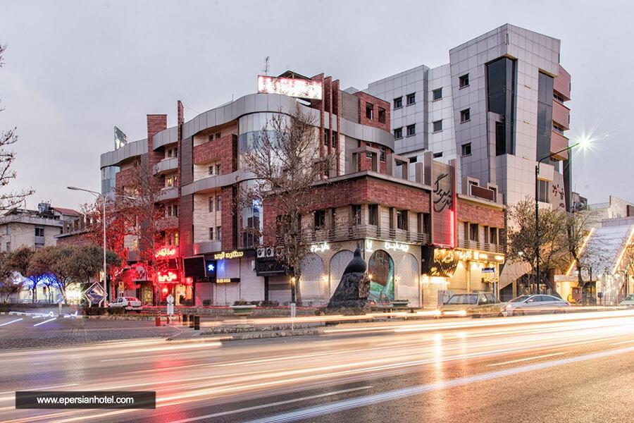هتل سی برگ مشهد نما