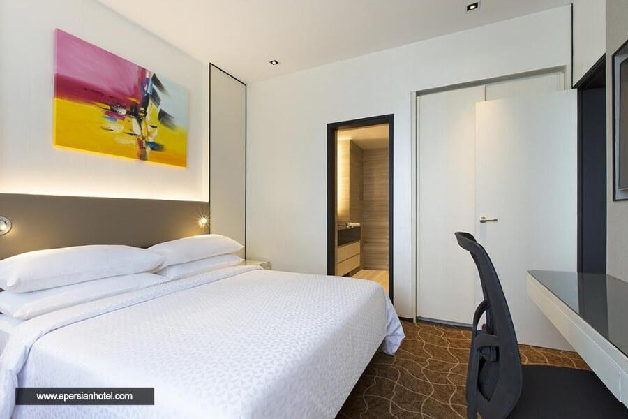 هتل فور پونت بای شرایتون سنگاپور اتاق