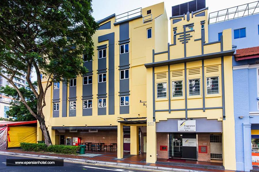 هتل فراگرنس هتل بالستیر سنگاپور نما