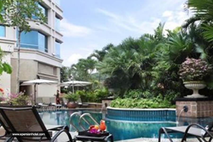 هتل گرند پارک سیتی هال سنگاپور استخر