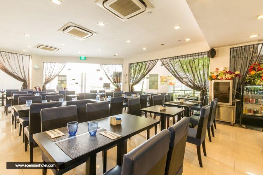 هتل پارک سوورین آلبرت استریت سنگاپور رستوران