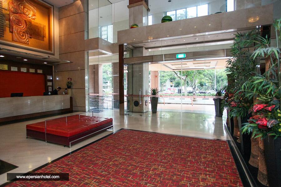 هتل کوالیتی مارلو سنگاپور پذیرش