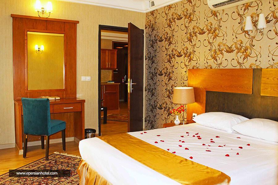 هتل آپارتمان سروش مشهد آپارتمان یکخوابه سه تخته