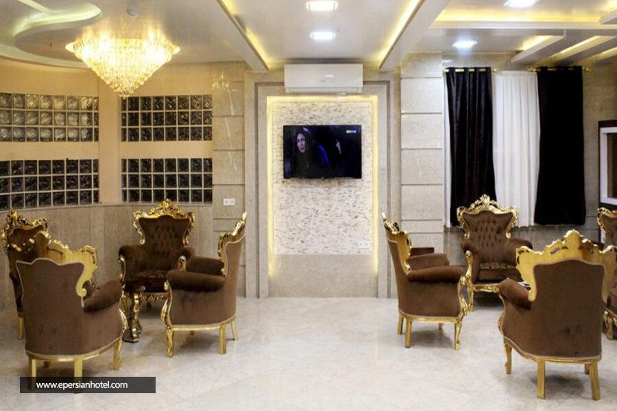 هتل آپارتمان تابش مشهد لابی