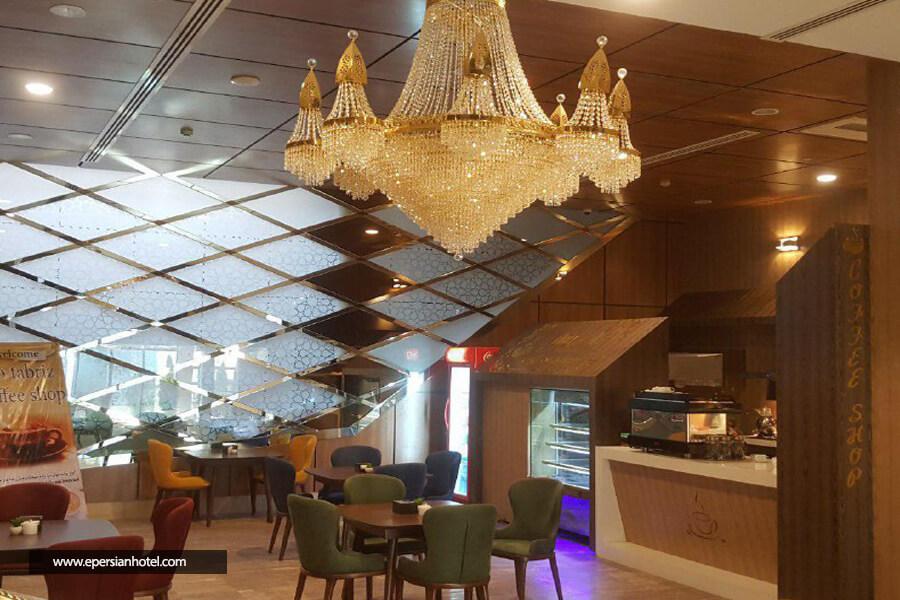 هتل تبریز مشهد کافی شاپ