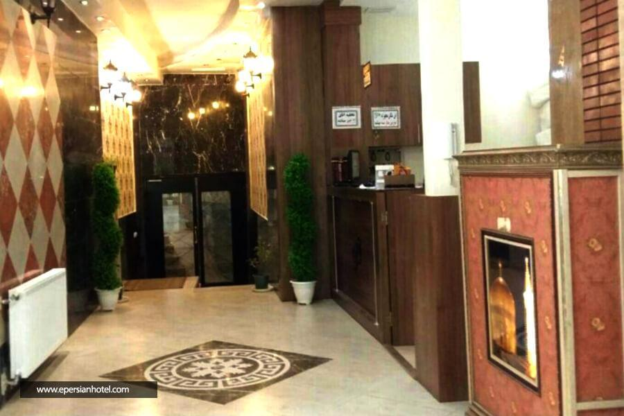 هتل آپارتمان تمدن مشهد لابی